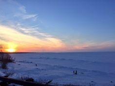 We are just down the street from this BEAUTIFUL WINTER WONDERLAND!  According to @MLive, Lake Erie is 96% FROZEN!!!