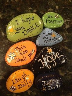 Be inspired with 20 of the Best Painted Rock Art Ideas, You Can do! Easy DIY tutorials that are trendy and therapeutic. Pebble Painting, Pebble Art, Stone Painting, Paint Pens, Paint Markers, Fenced Garden, Rock Hunting, Rocky Road, Kindness Rocks
