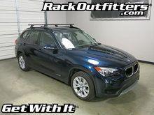 BMW X1 Thule Podium Square Bar Base Roof Rack '11-'15*