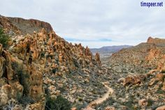 Volcanic rock formations along the Grapevine Hills trail. Big Bend National Park, Texas. Photography by Tim Speer