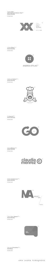 #Logos / by Nicolás Vasino, via #Behance