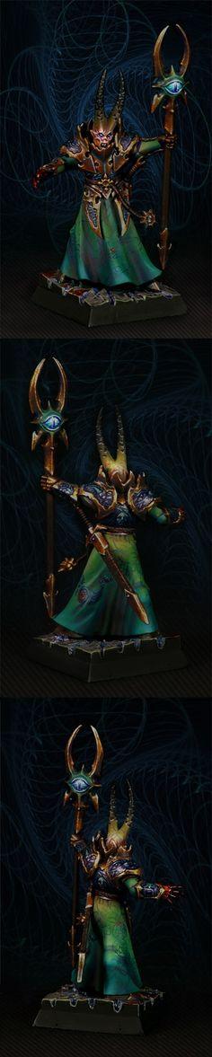 Tzeench warlock