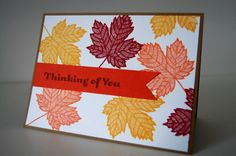 Magnificent Maple Stampin' up