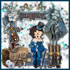 Betty Boop Pictures, The Creator, Diva, Steampunk, Bb, Tags, Winter, Fashion, Quotation
