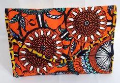 Ankara Print Patty Clutch by FearlessThreads on Etsy