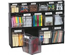 tilting drawers - cool.  $33 from Staples - will have to think about it.