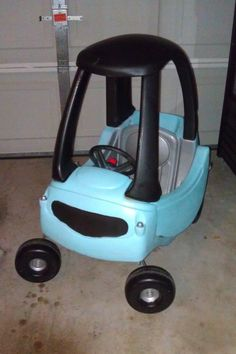 fisher price little tykes car diy makeover