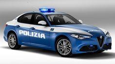 Alfa Romeo Giulia Veloce alla Polizia