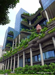 A green hotel in Singapore