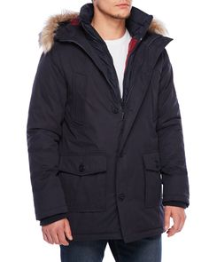 Superdry Everest Twin Hooded Coat