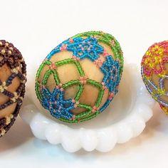 Beaded Easter Egg Pattern