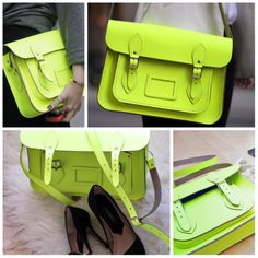 i need a neon bag...now