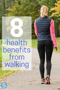 You Fitness, Fitness Motivation, Health Fitness, Health Benefits Of Walking, Walking Challenge, Power Walking, Walking Exercise, Jillian Michaels, Each Day