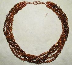 Beaded Torsade Necklace | AllFreeJewelryMaking.com