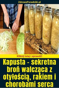Kapusta – sekretna broń walcząca z otyłością, rakiem i chorobami serca Cancer, C'est Bon, Pickles, Cucumber, Vegetables, Cooking, Health, Voici, Sauerkraut