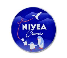 NIVEA cream blue can