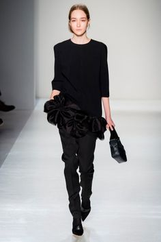 Victoria Beckham Fall 2014 - NYFW - Fashion Runway