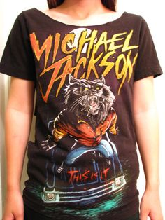 Michael Jackson Shredded This Is It Werewolf Shirt by DoosDronk, $20.00