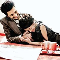 Romantic Moments of Riteish and Genelia