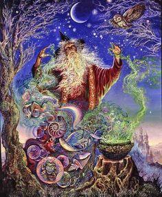 Merlin's Magic by Josephine Wall
