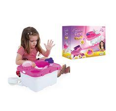 0480.9 - Pia Casinha Flor Estilo | Acompanha 16 acessórios. Deve ser abastecida com água. | Faixa Etária: +3 anos | Medidas: 38 x 32,5 x 26,5 cm | Jogos e Brinquedos | Xalingo Brinquedos | Crianças