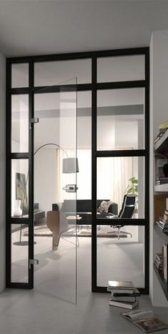 49 models Mobile partition for every room - Raum Mirror Room Divider, Diy Room Divider, Room Divider Shelves, Room Divider Curtain, Home Design Plans, Home Interior Design, Interior Architecture, Living Room Designs, Living Room Decor
