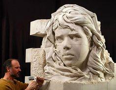 Philippe Faraut. Скульптуры