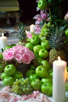 Table centerpiece presentation