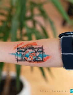 Explosion of Colors: Beautiful Watercolor Tattoos by Koray Karagözler