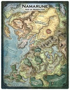 A wide variety of maps created for various book and game projects.