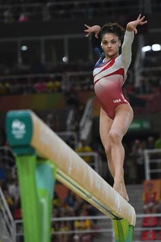 2016 Rio Olympic Games Women's Team Final-- Laurie Hernandez