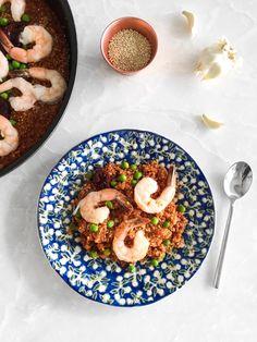 Shrimp Paella – ToneItUp.com