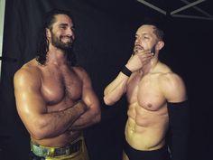 Seth Rollins and Finn Balor. Wwe Seth Rollins, Seth Freakin Rollins, Balor Club, Macho Alfa, Wwe Tna, Finn Balor, Royal Rumble, Women's Wrestling, Wwe News