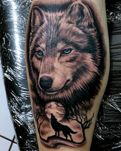 Wolf Tattoos - Have a look at the recent tattoo designs Wolf Tattoo Design, 3d Wolf Tattoo, Kurt Tattoo, Wolf Tattoo Forearm, Wolf Tattoo Back, Wolf Tattoos Men, Small Wolf Tattoo, Wolf Tattoo Sleeve, Lion Tattoo