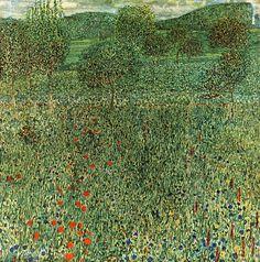Klimt, Campo fiorito (1909)