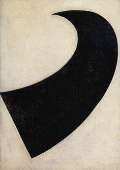 "Kazimir Malevich, ""Suprematism No. 55 (spherical evolution of a plane)"""
