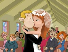 kim possible and ron stoppable wedding | AllaboutKristine: The Wedding of Kim Possible and Ron Stoppable