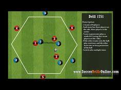 Diego Simeone rondo 3v3 + 3 | Soccer Drill 1751 - YouTube Football Coaching Drills, Soccer Drills, Teacher Librarian, Shin Splints, Soccer Training, Football Soccer, Sports, Youtube, Soccer Workouts