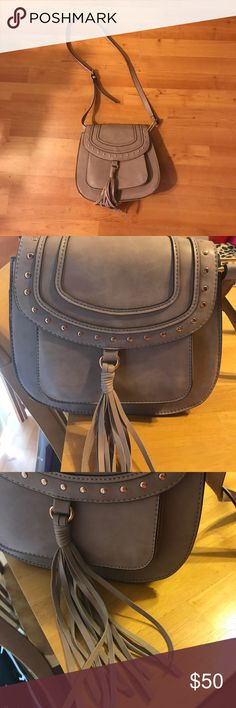 "✨HP✨Franco Sarto Saddle Rex Crossbody NWOT ✨Host Pick 5/9/17 ""Style Crush Party""✨ lilac crossbody has never been worn. Tags accidentally fell off. Originally $88, can be looked up online as well to confirm original price. Open to all offers. Franco Sarto Bags Crossbody Bags"
