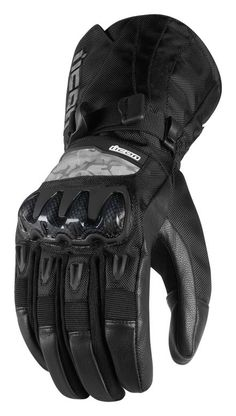 Icon Patrol Waterproof Gloves - 2017 - Off Road and Motocross - Motorrad Motocross Gloves, Motorcycle Gloves, Waterproof Gloves, Waterproof Fabric, Motorcycle Camping, Camping Gear, Races Outfit, Tactical Gloves, Fingers Design
