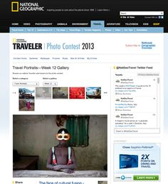 National Geographic Traveler - Photo Contest 2013 Travel Portraits—Week 12 Gallery  © Jason Florio - 'The face of cultural fusion - Gambian village boy in a Mardi Gras mask ' http://travel.nationalgeographic.com/travel/traveler-magazine/photo-contest/2013/entries/gallery/travel-portraits-week-12/#/1