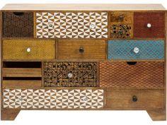 Komoda Soleil 14 Szuflad Kare Design 80189