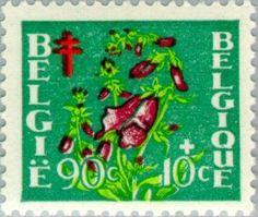 Stamp: Flowers (Belgium) (Flowers) Mi:BE 878,Sn:BE B487,Yt:BE 836,AFA:BE 899,Bel:BE 836