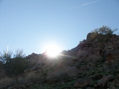 Hike on Camelback mountain; Phoenix 2011
