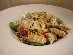 Cooked With Love: Salade met gegrilde kalkoen