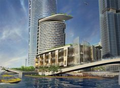 barangaroo masterplan: crown hotel tower proposal by kohn pedersen fox