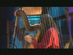 Yanni World Tour Victor Espinola on the harp