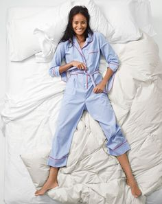 Zzzzzzz… A J.Crew women's vintage-inspired onesie. Our new collection of pj's is anything but a snoozefest.