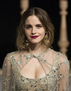 Actress Emma Watson arrives for the Asian premiere of the Disney Movie The Beauty and The Beast in Shanghai on February 27, 2017. / AFP / Johannes EISELE