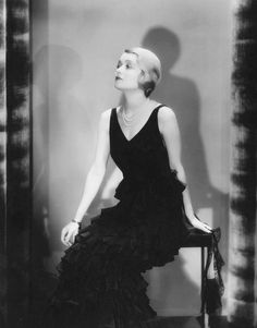 """Constance Bennett, 1931 """"I'm a lot more sartorial than thespian. They come to see me and go out humming the costumes."""" """""""
